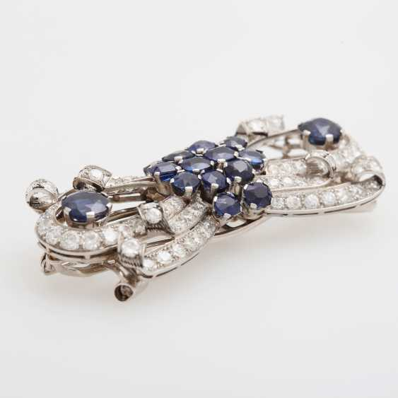 Eye-Catching Double-Clip Brooch / Removable Buckle