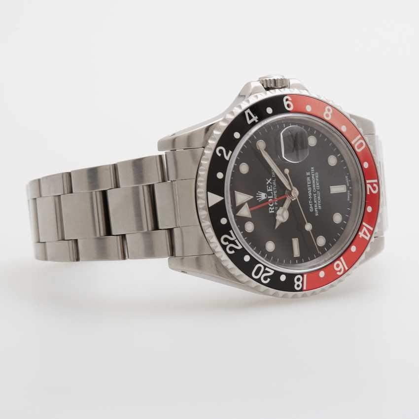 """ROLEX men's watch """"GMT-Master II"""". Stainless steel. Ref.: 16710. - photo 2"""
