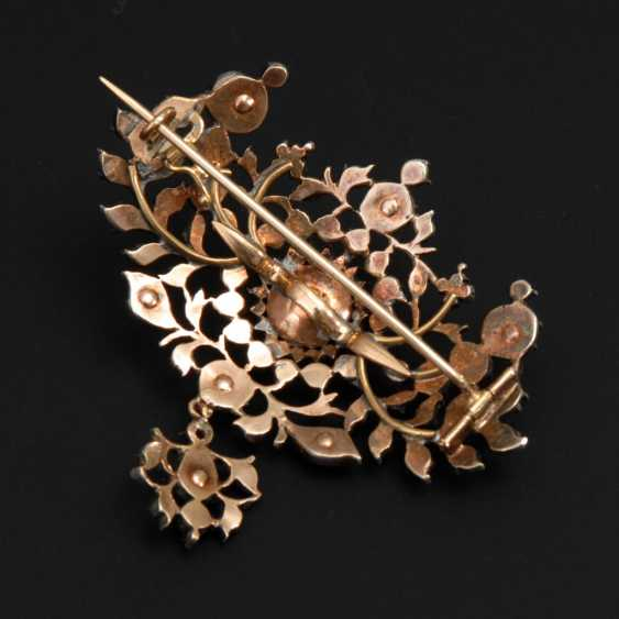 Brooch with old European cut diamonds to 188 - photo 2