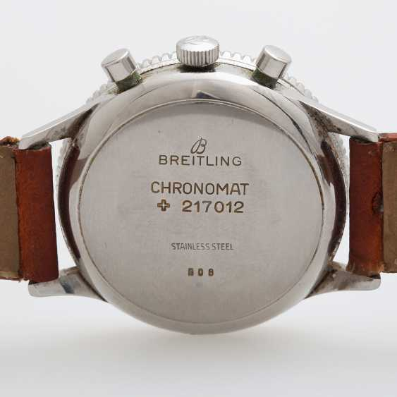 "BREITLING men's watch ""Chronomat"", 1960/70s. - photo 4"
