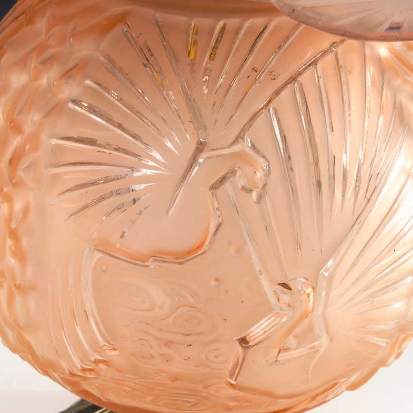 Lot 1905 Art Deco Tischlampe Muller Brothers From The