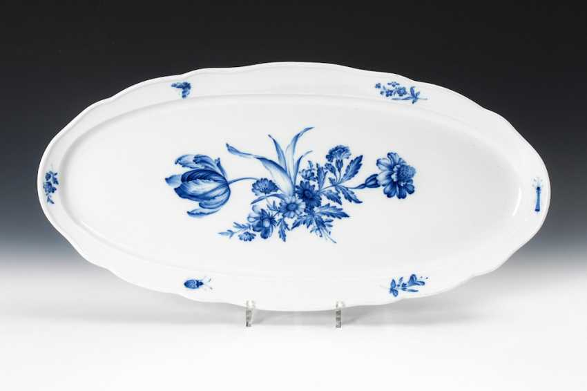 Large fish plate with blue painting, MEIS - photo 1