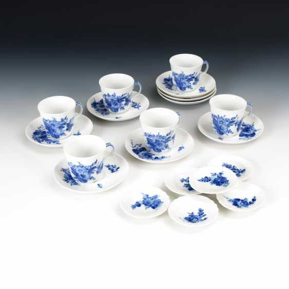 20 parts with blue painting, ROYAL COPENHA - photo 1