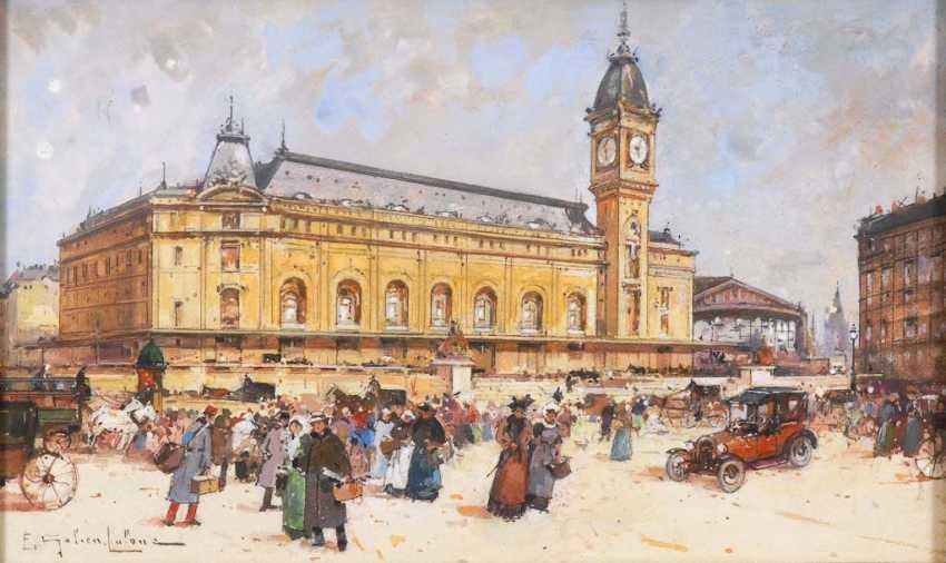 GALIEN-LALOUE, Eugène: Vor dem Station - photo 1