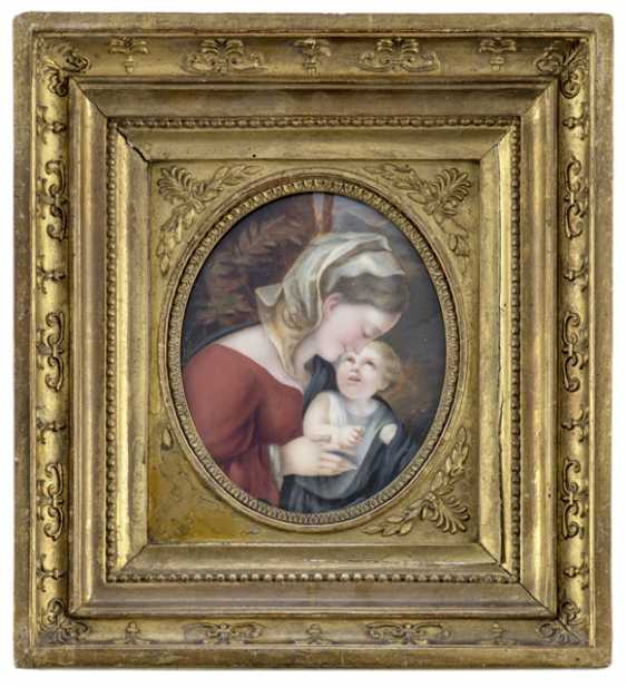 Miniature-painting. 19. Century - photo 1