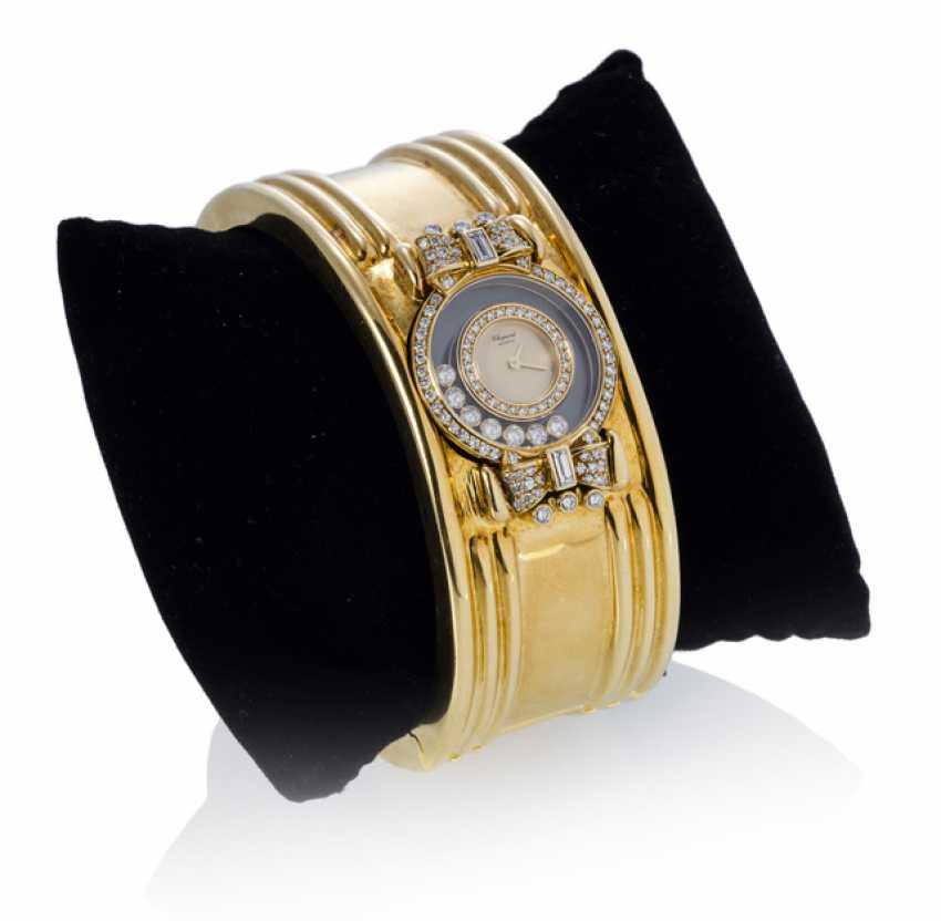 Chopard Happy Diamonds wrist watch as a bangle bracelet. Chopard/Geneva - photo 1