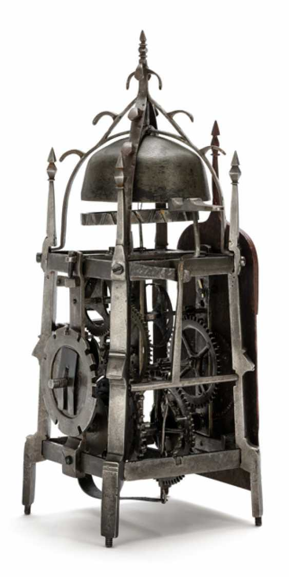 Gothic Iron Wheel Clock. Probably South German, 16. Century - photo 2