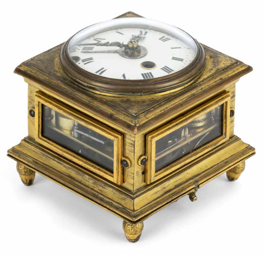 Horizontal table clock. Name Giuspe Garzoli Roma dat. 1792 - photo 1