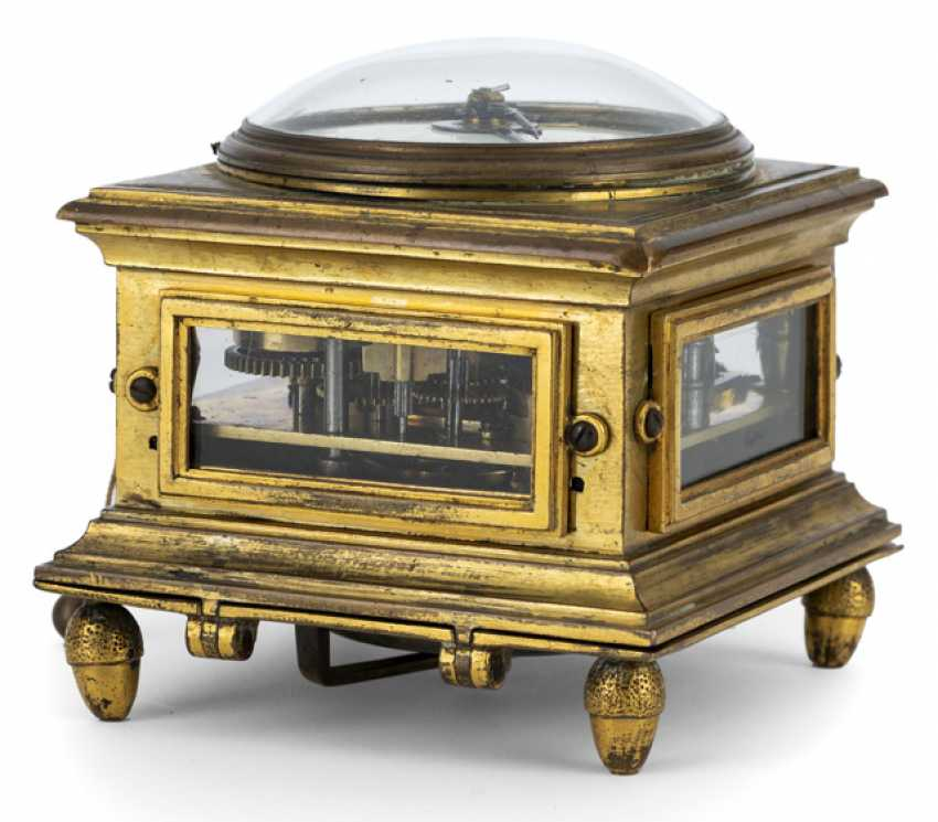 Horizontal table clock. Name Giuspe Garzoli Roma dat. 1792 - photo 2