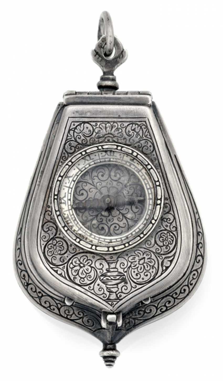 Einzeigrige Halsuhr. 19. Century - photo 1