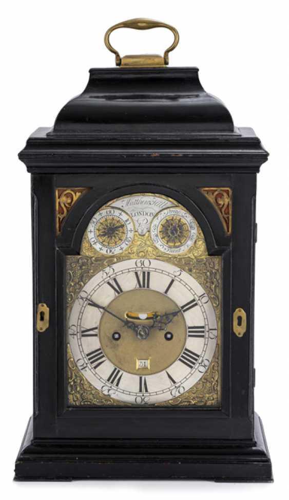 Bracket Clock. Name Matthew Hill, LONDON, England, 18. Century - photo 1