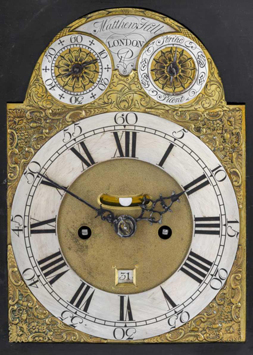 Bracket Clock. Name Matthew Hill, LONDON, England, 18. Century - photo 2