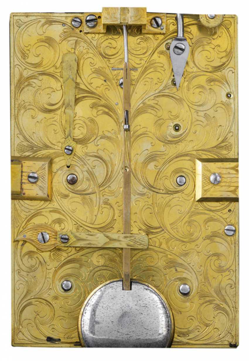 Bracket Clock. Name Matthew Hill, LONDON, England, 18. Century - photo 3