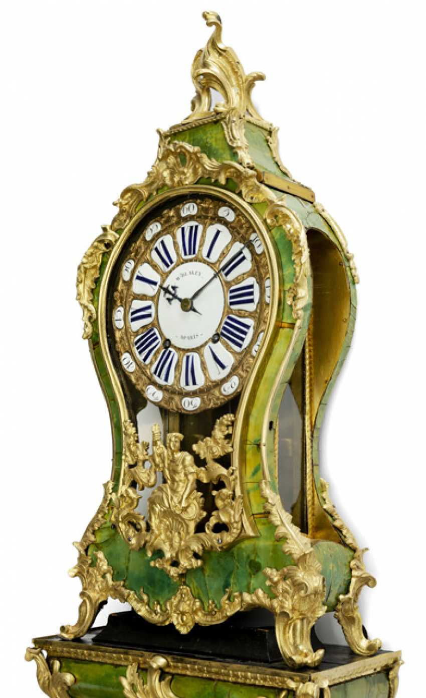 "Pomp pendule ""en corne verte"". Name Blakey A Paris, France, 18. Century - photo 2"