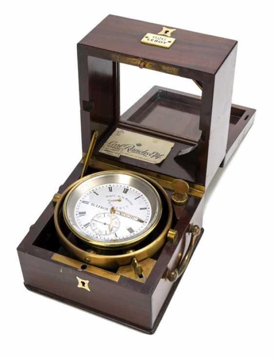 The Marine Chronometer. Name Th.LEROY No. 626., France, around 1900 - photo 1