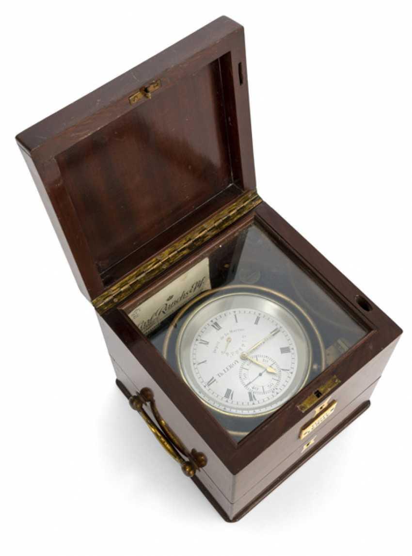 The Marine Chronometer. Name Th.LEROY No. 626., France, around 1900 - photo 2
