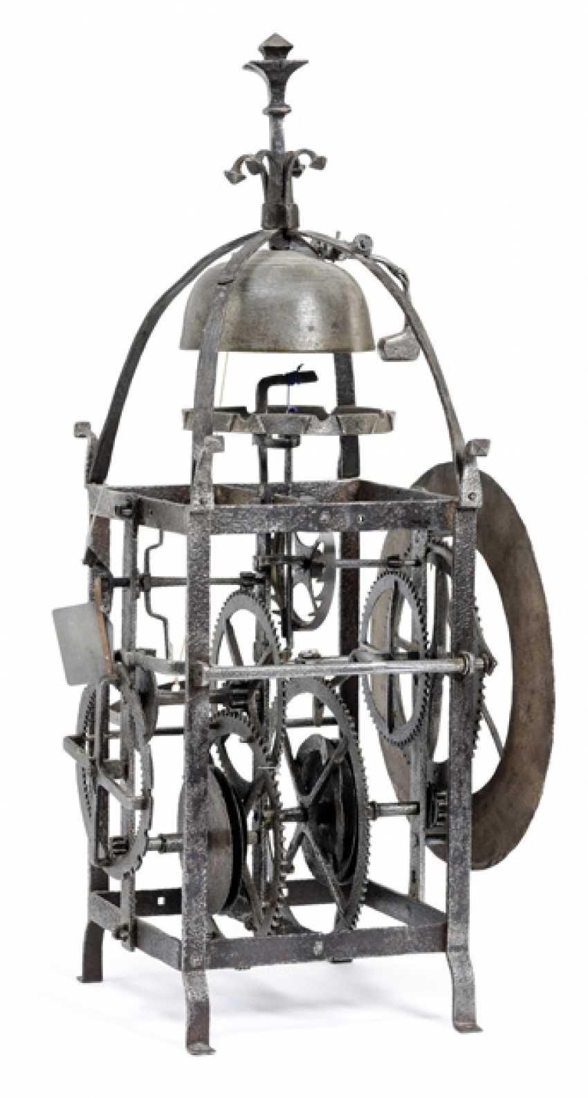 Gothic Iron Wheel Clock. Alpine, 16. Century - photo 2