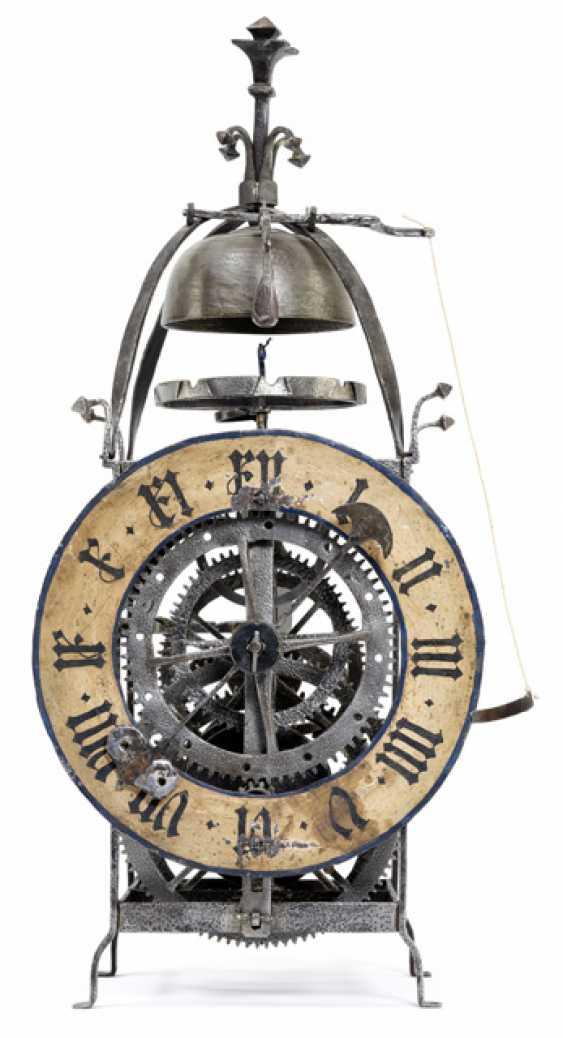 Gothic Iron Wheel Clock. Alpine, 16. Century - photo 3