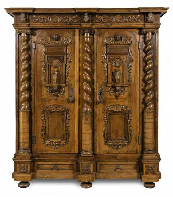 Baroque Cabinet. South Germany, 17./19. Century - photo 1