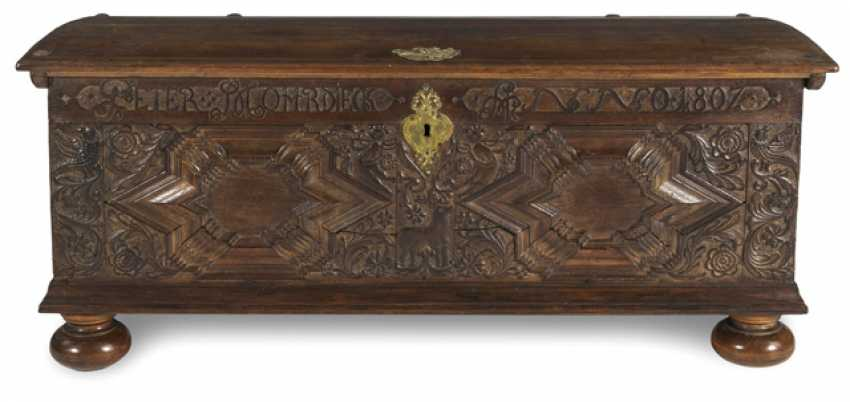 Baroque Chest. Name PETER MOHRDIECK, ANNO 1807 - photo 1