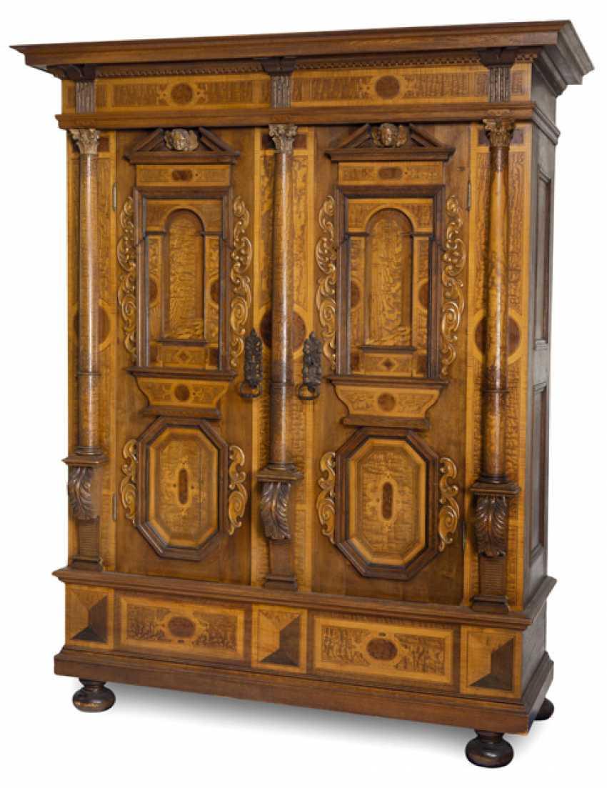 Facade of the Cabinet. Baroque Style, 19th Century. Century - photo 1