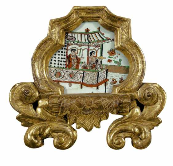 Exceptional Baroque Cabinet Mirror. Sweden, probably the workshop of the brothers Christian and Gustaf Precht, 1725 - photo 2