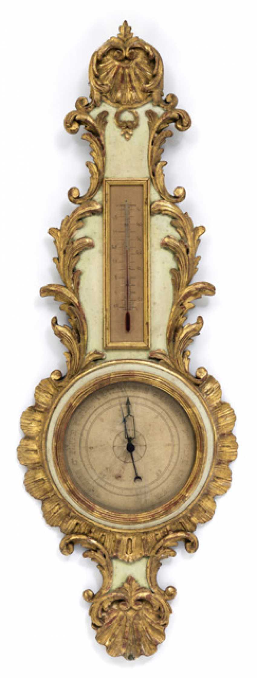 Barometer. The Rococo Style, France, 19th Century. Century - photo 1