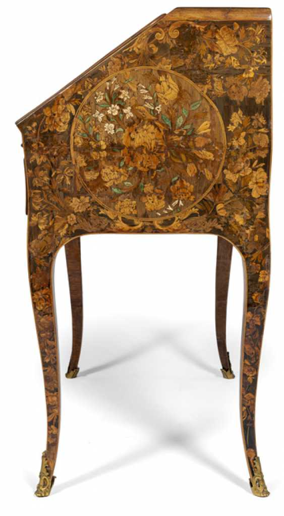 Exceptional Louis XV and ladies Secretary. Probably the successor to Thomas Hache, France 1750/60 - photo 4