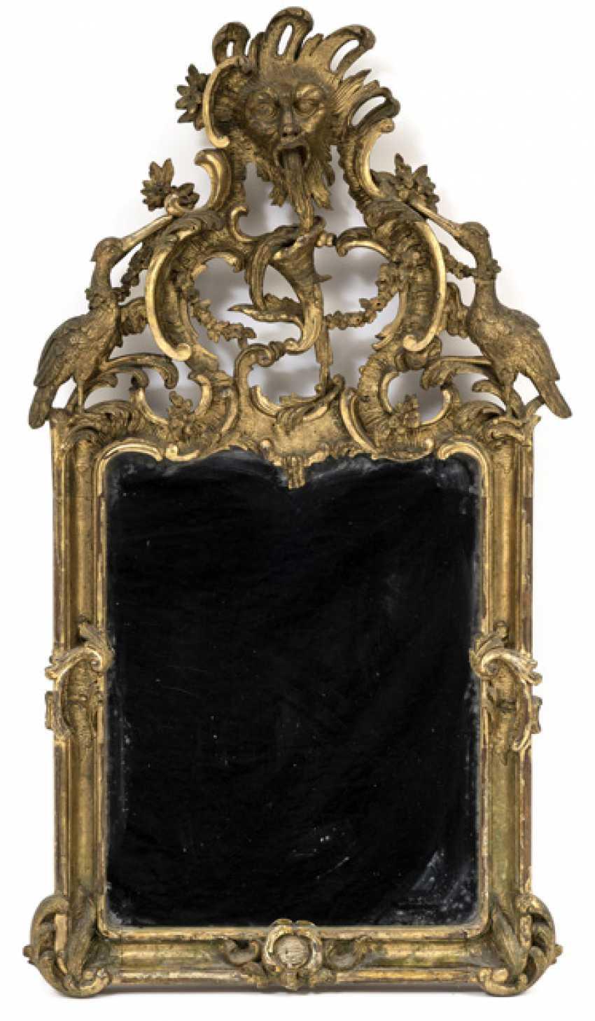 Rococo Mirror. Italy, Mid-18th. Century - photo 1