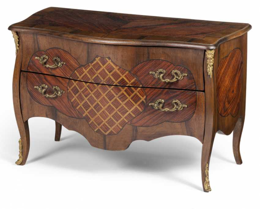 Model chest of drawers in the Louis XV style. France, 19. Century - photo 1