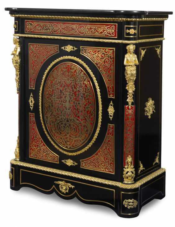 A Splendid Half Cabinet. The Boulle Style, France, 19th Century. Century - photo 1