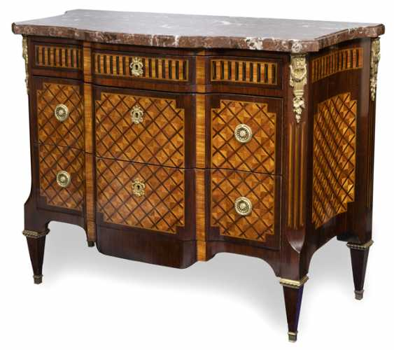 Magnificent Chest Of Drawers. Louis XVI style, France, 19th century. Century - photo 1