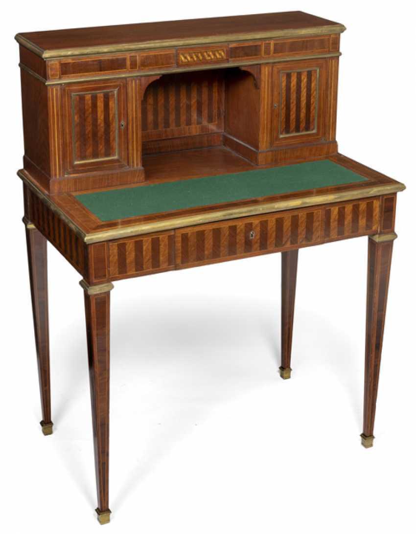 "Desk with attachment, so-called ""Bonheur-du-Jour"". Neo-Classical Style, 19. Century - photo 1"