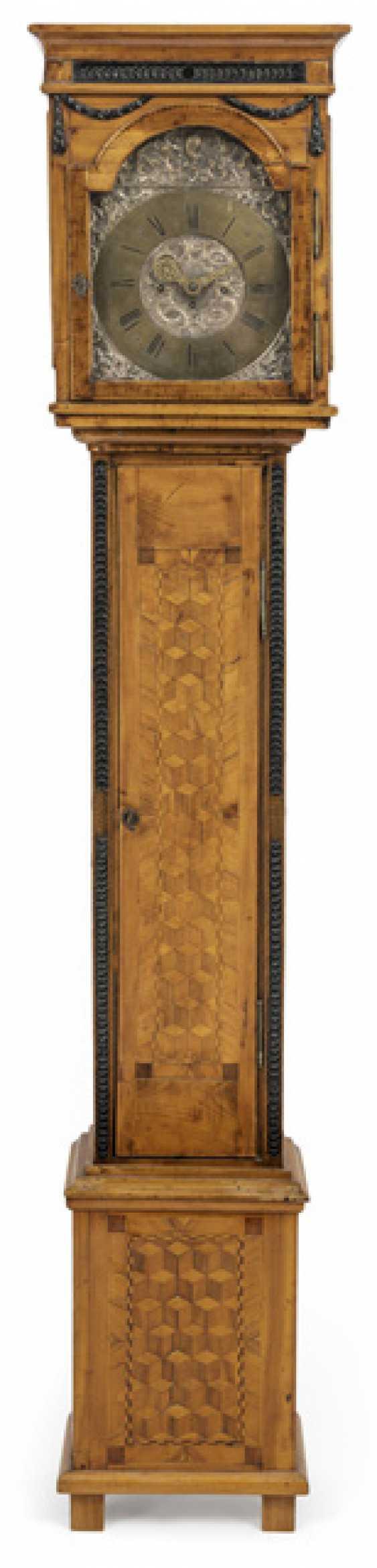 Louis XVI grandfather clock. Name Franc Anton Called in Passau, Germany, around 1780 - photo 1