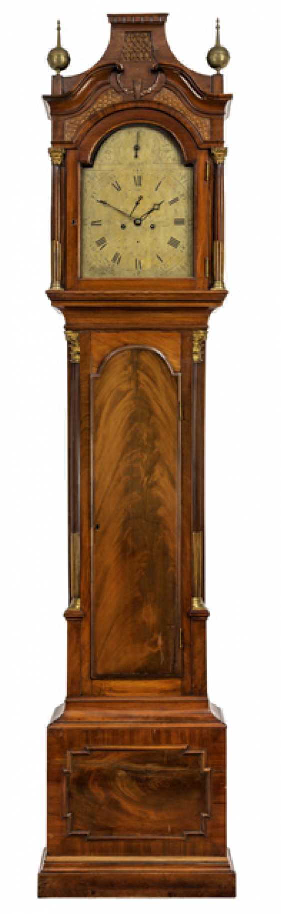 Floor grandfather clock. On the dial, Robert Rentch London, England called to the 1800's - photo 1