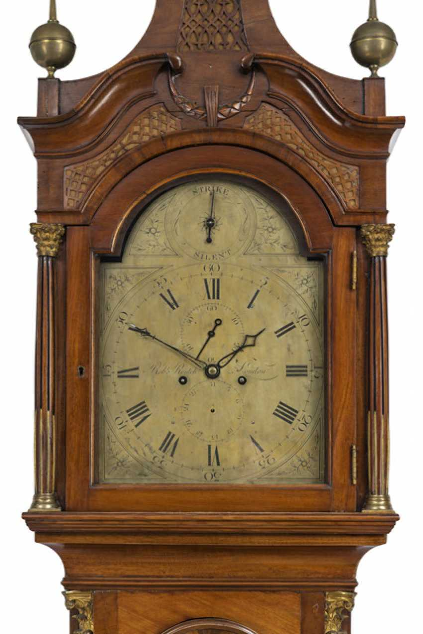 Floor grandfather clock. On the dial, Robert Rentch London, England called to the 1800's - photo 2