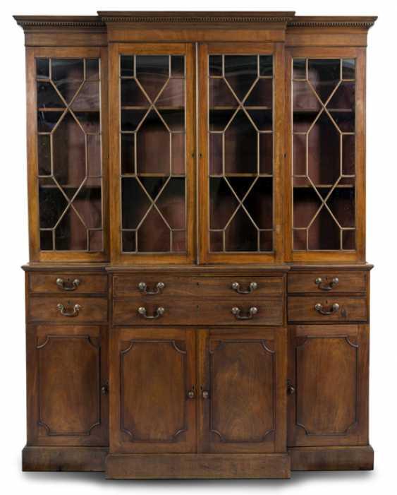 Breakfront-Bookcase. England, 19. Jahrhundert - photo 1