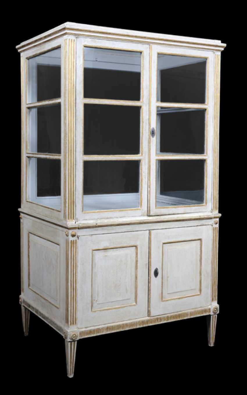 Pair of neoclassical vitrines. South German, late 18th century. Century - photo 3