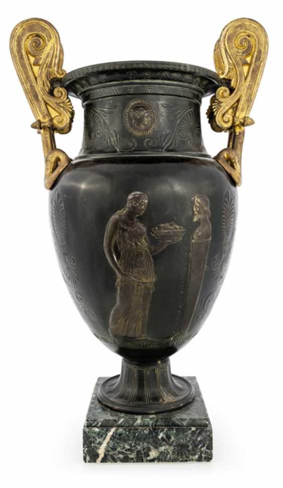 Classical Handle Vase. France, around 1830 - photo 2