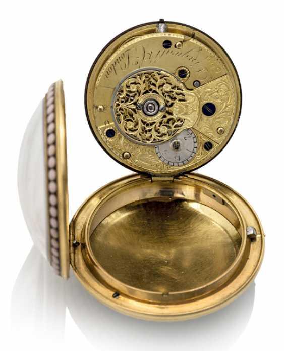 Goldemaille-Taschenuhr. Bezeichnung Dingwall & Co. Llndon, England, 18. Jahrhundert - Foto 2