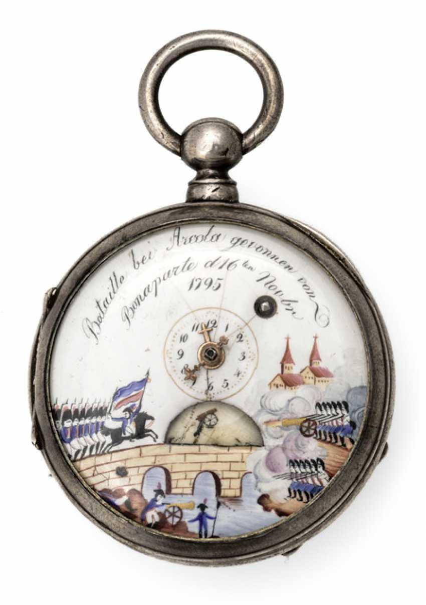 Spindle pocket watch. France, At The End Of 18. Century - photo 1