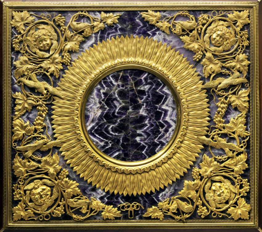 Magnificent Empire Zierschatulle with Amethyst. France, 19. Century - photo 2