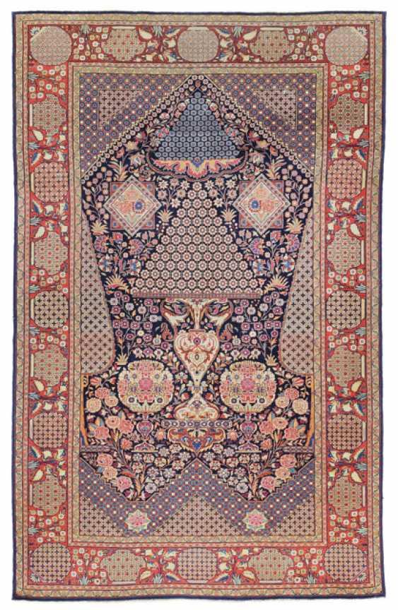 Keschan Gebetsteppich. Zentralpersien, um 1930 - Foto 1