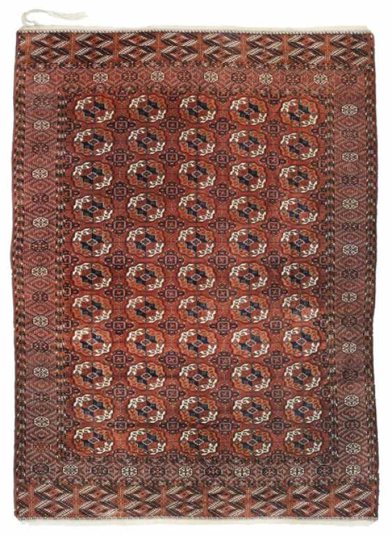 Tekke Main Carpet. Turkmenistan, around 1900 - photo 1