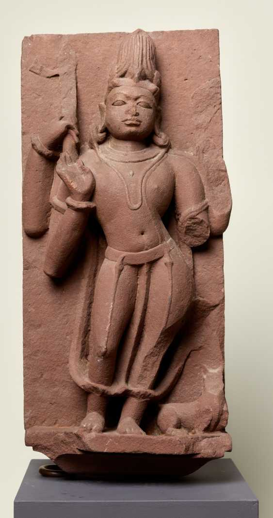 DEITY SHIVA WITH A COMPANION ANIMAL - photo 1