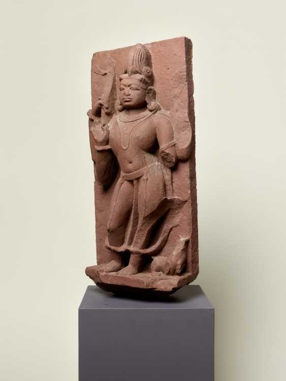 DEITY SHIVA WITH A COMPANION ANIMAL