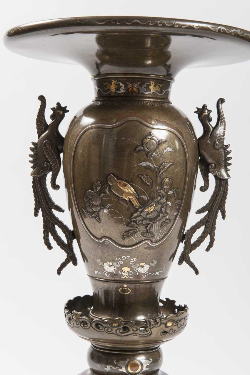 MAGNIFICENT VASE IN SIX PARTS - photo 3