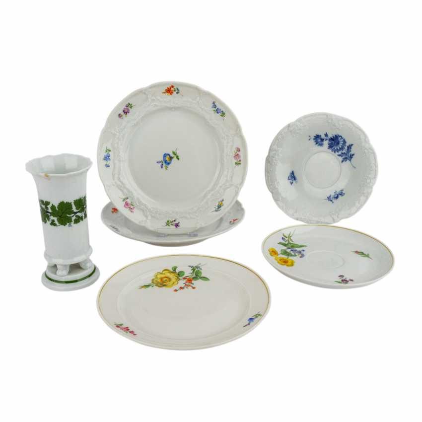 MEISSEN group of 19 pieces, 20. Century: - photo 3