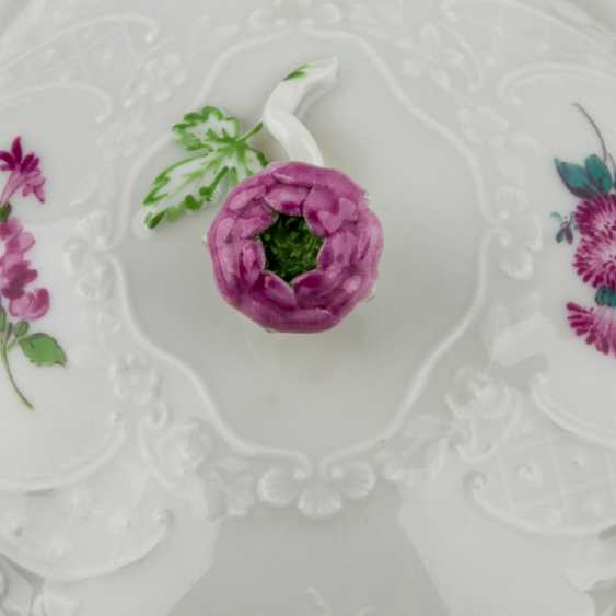 MEISSEN coffee service for 6 persons 'Neumarseille flowers', 20. Century - photo 4