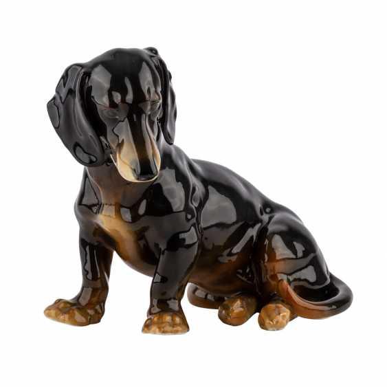 "Animal Figurine ""Dachshund"", 20. Century - photo 1"